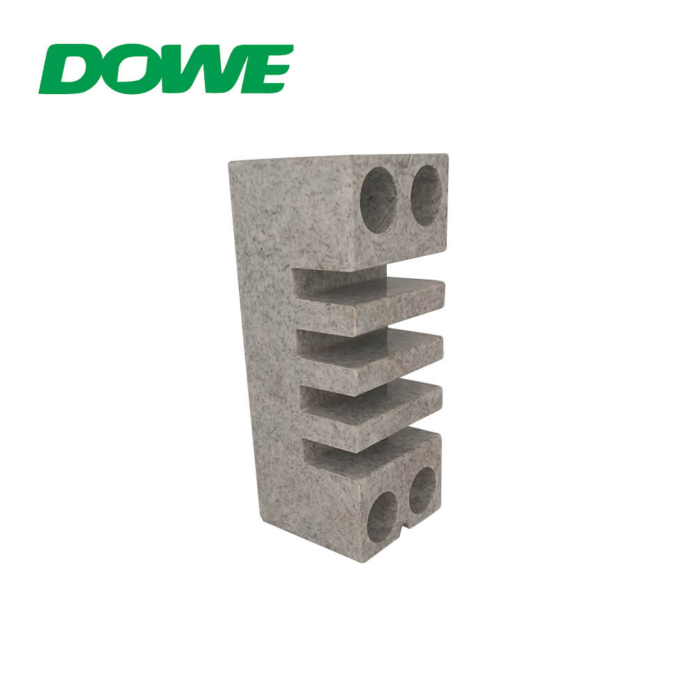 BMC Bus Bar Clamp Busbar Insulators Electric Switchboard Marble LOW Voltage White Gray CE ROHS EL-155 12N/M 660v DOWE