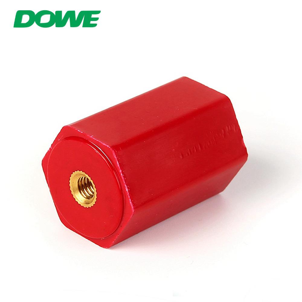 DOWE EN30 M6 Hexagonal Busbar Insulator Support Holder Electrical Insulators