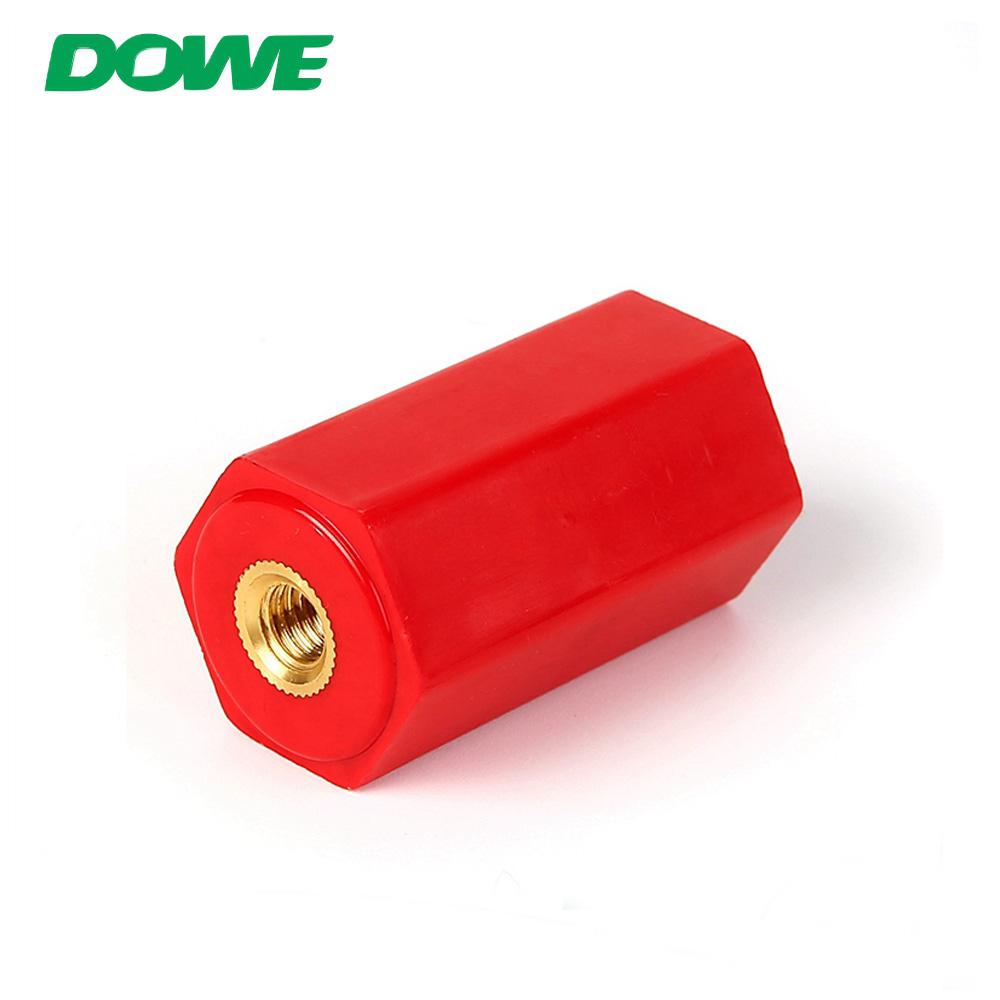 DOWE EN40 Brass Screw Bus Bar Post Insulator for Dry Transformer