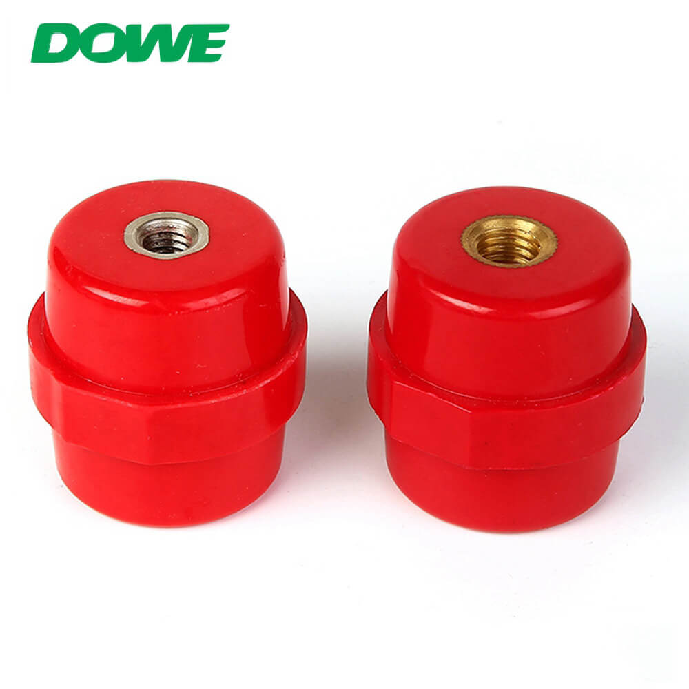 Low Voltage Isolators SM40 M8 Electrical Support Insulator With CE For Distribution Box