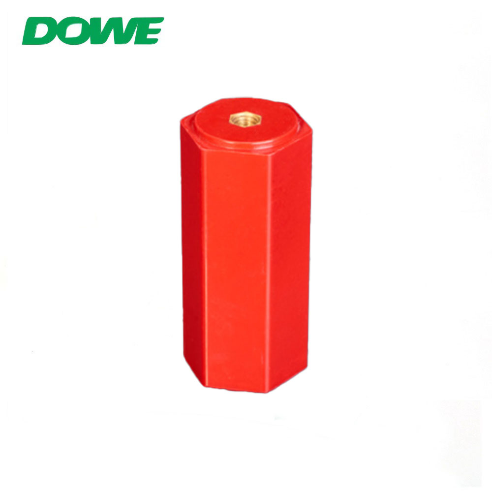 SMC Low Voltage En100 M6 Hexagonal Busbar Support Holder Electrical Insulators Standoff Insulator Electrical Application BMC
