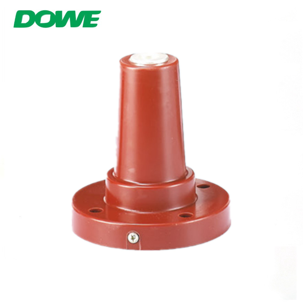 12kV 630A Epoxy resin round connecting bushing European Accessories Unilateral Casing