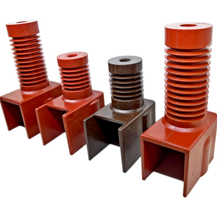 12KV Epoxy Resin Indoor Installation high voltage conjoined Insulator for KYN28-12 High Voltage Switchgear