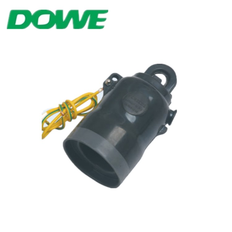 DUWAI 12KV European Cable Accessories Silicone Grease Dust-proof Moisture-proof Insulation Cap for Electric Bushing