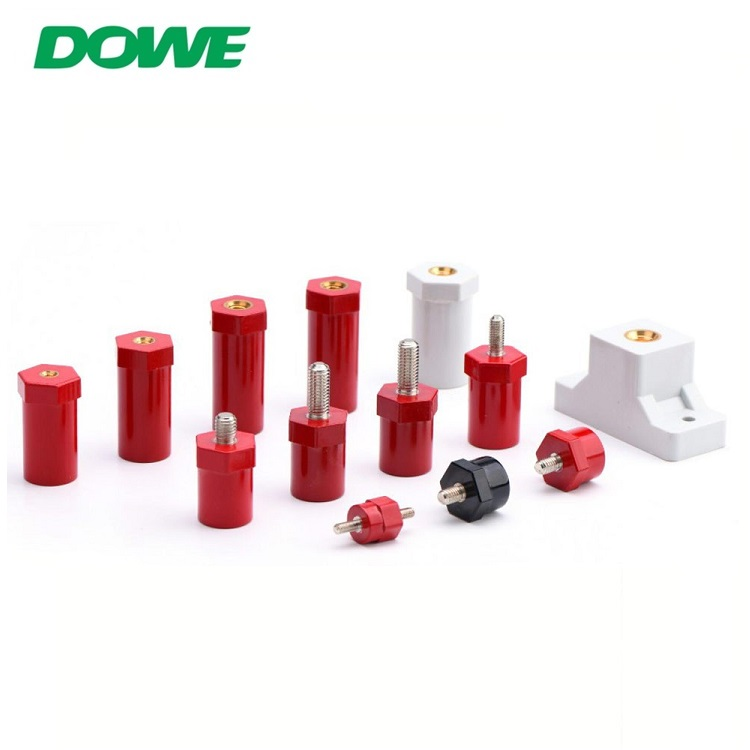 DOWE SB14X14 Low Voltage Support Bus Bar Insulator Electrical Busbar Epoxy Resin Isolator