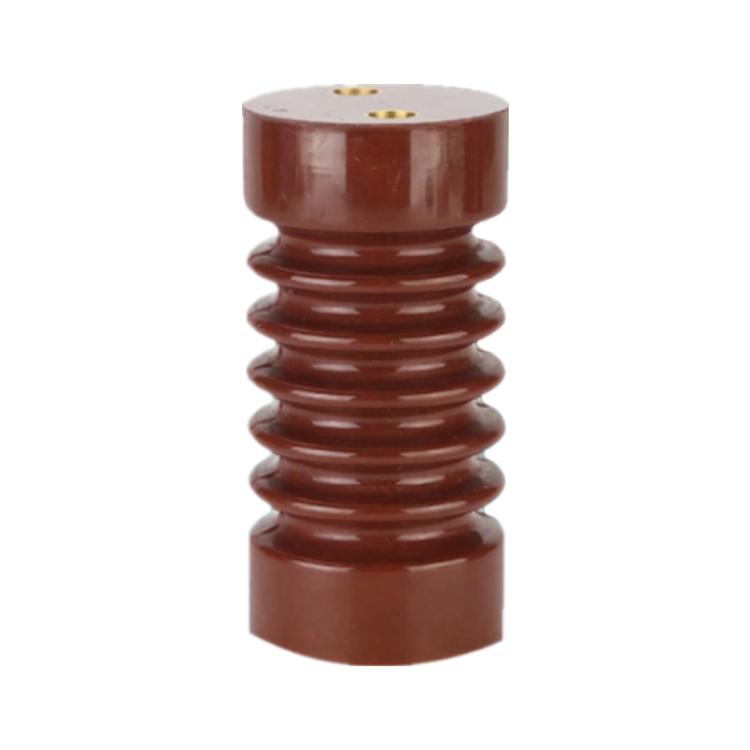 High Voltage Busbar Insulator EL-76x120 Epoxy Resin Insulation Standoff Insulator